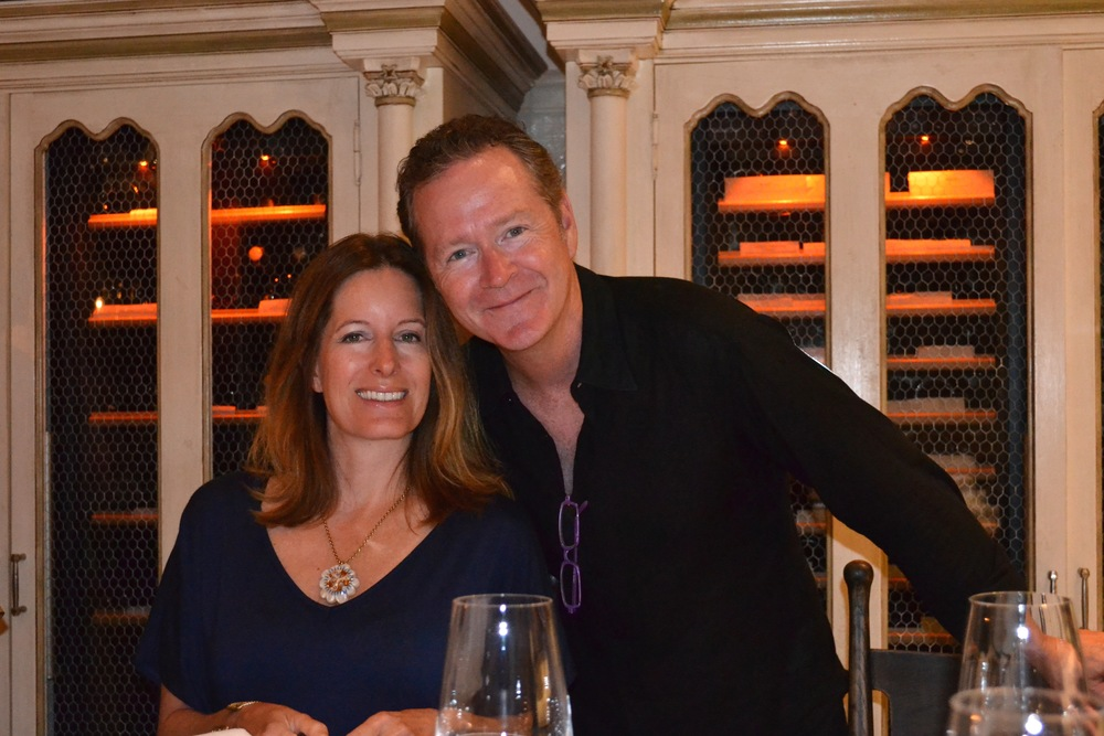 A friend's birthday dinner in Venice, Italy 2014.