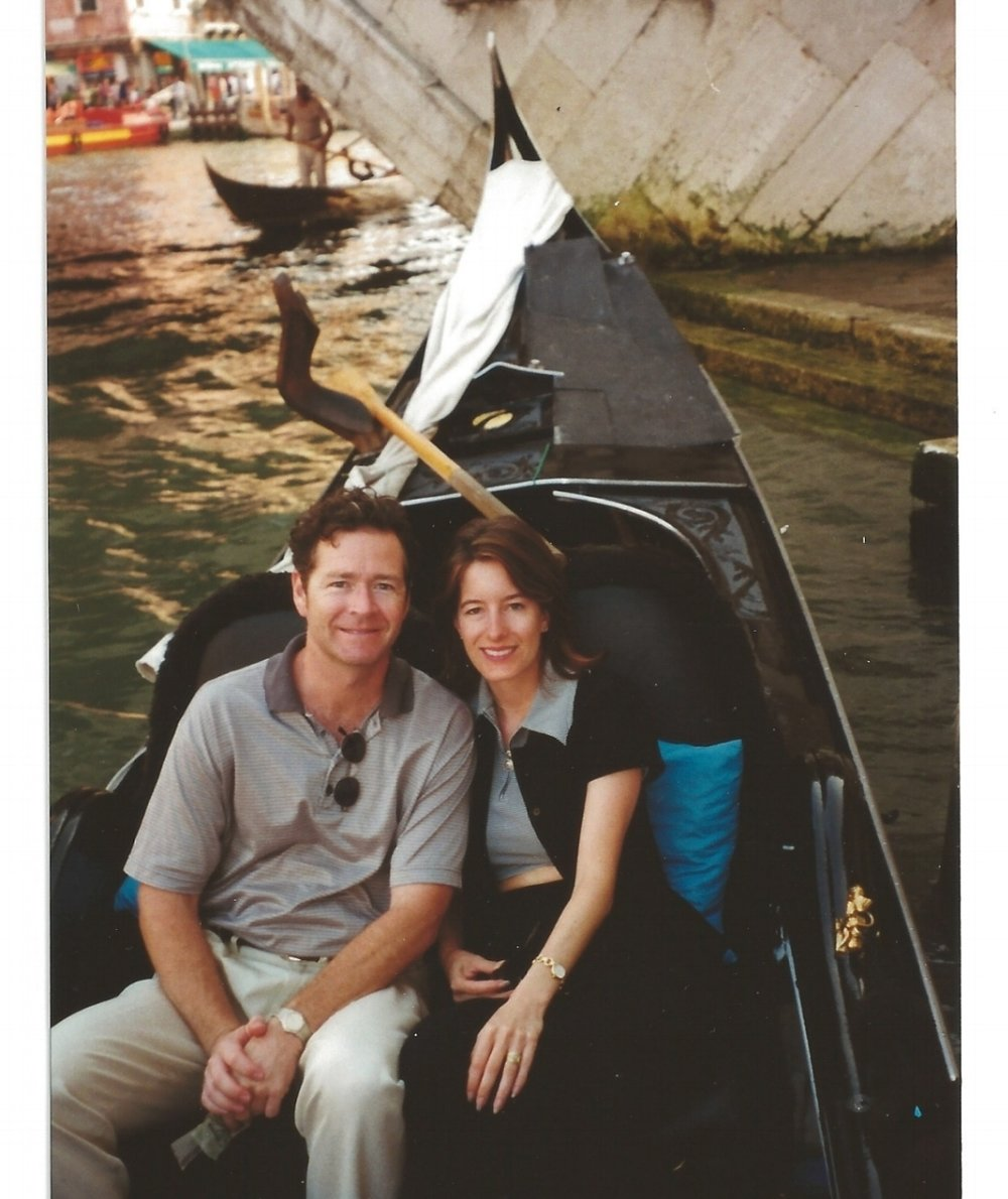 Our first trip to Venice in 1997