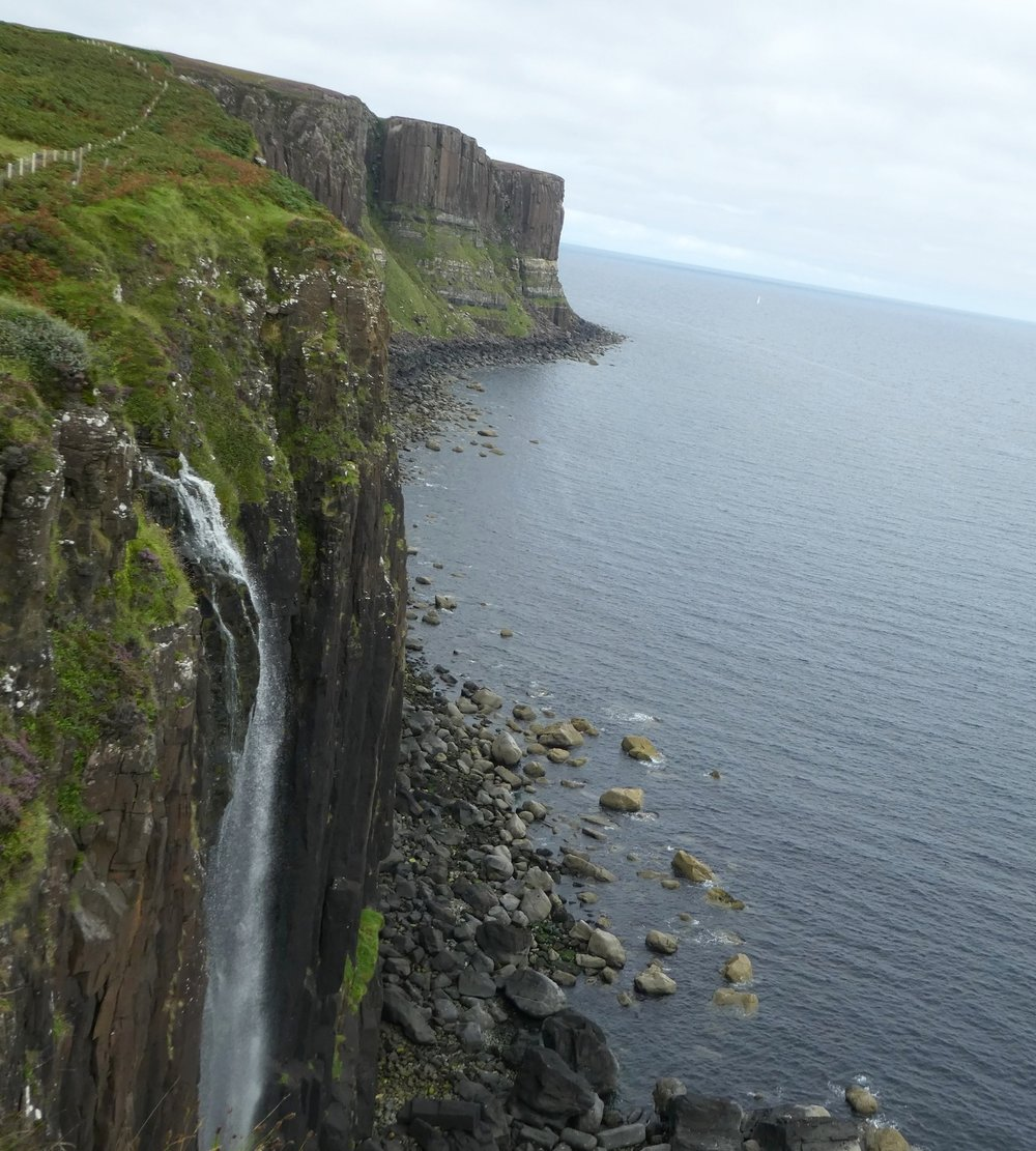 Kilt Rock on the Trotternish Peninsula