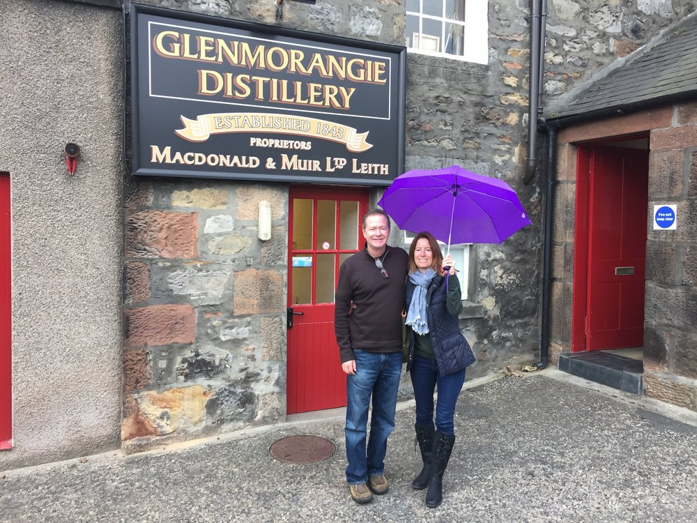 Fun Scotch tasting at Glenmorangie