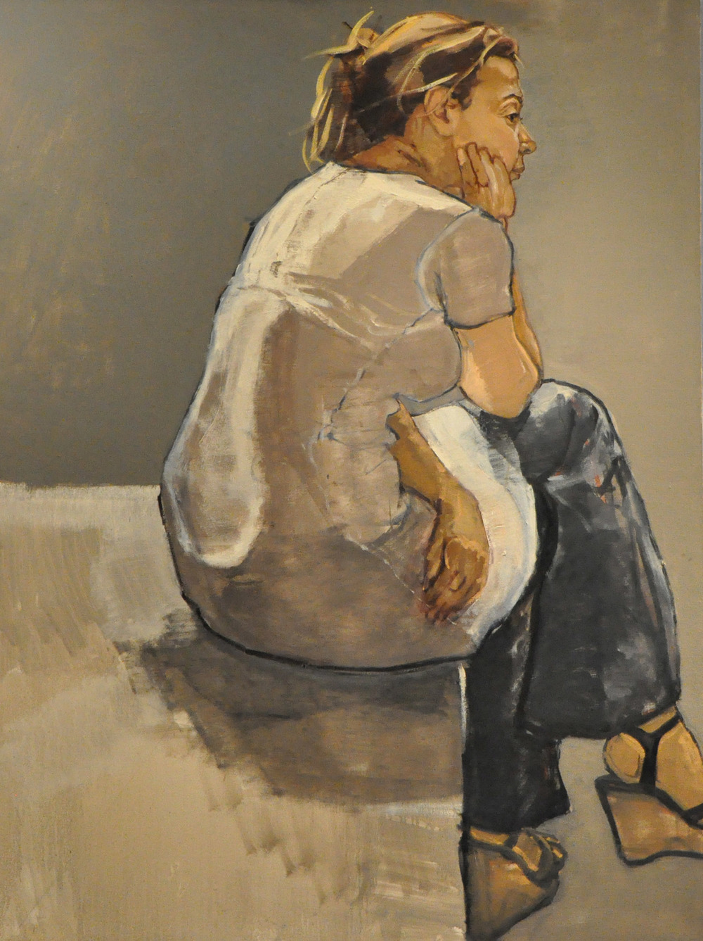 """Marie, Seated"""
