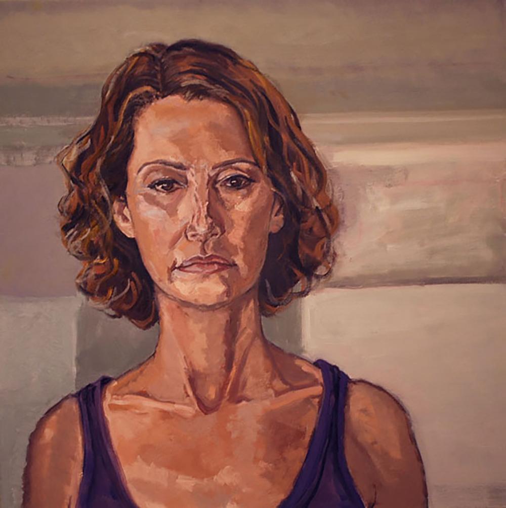 """""""Self Portrait in Purple"""""""