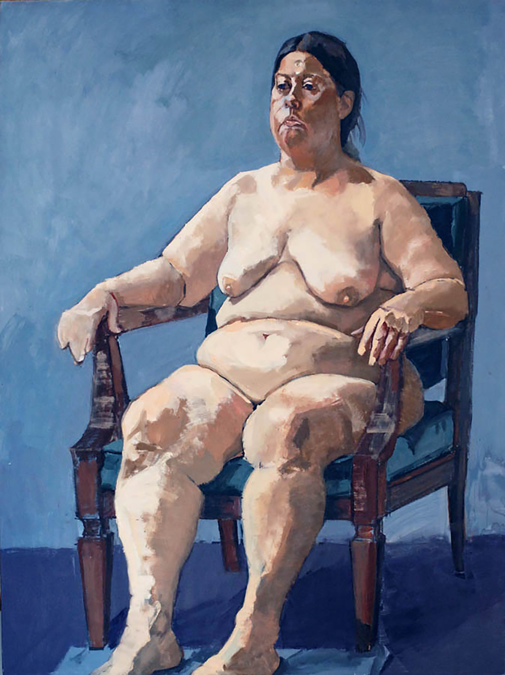 """Royal Betty (Seated Nude)"""