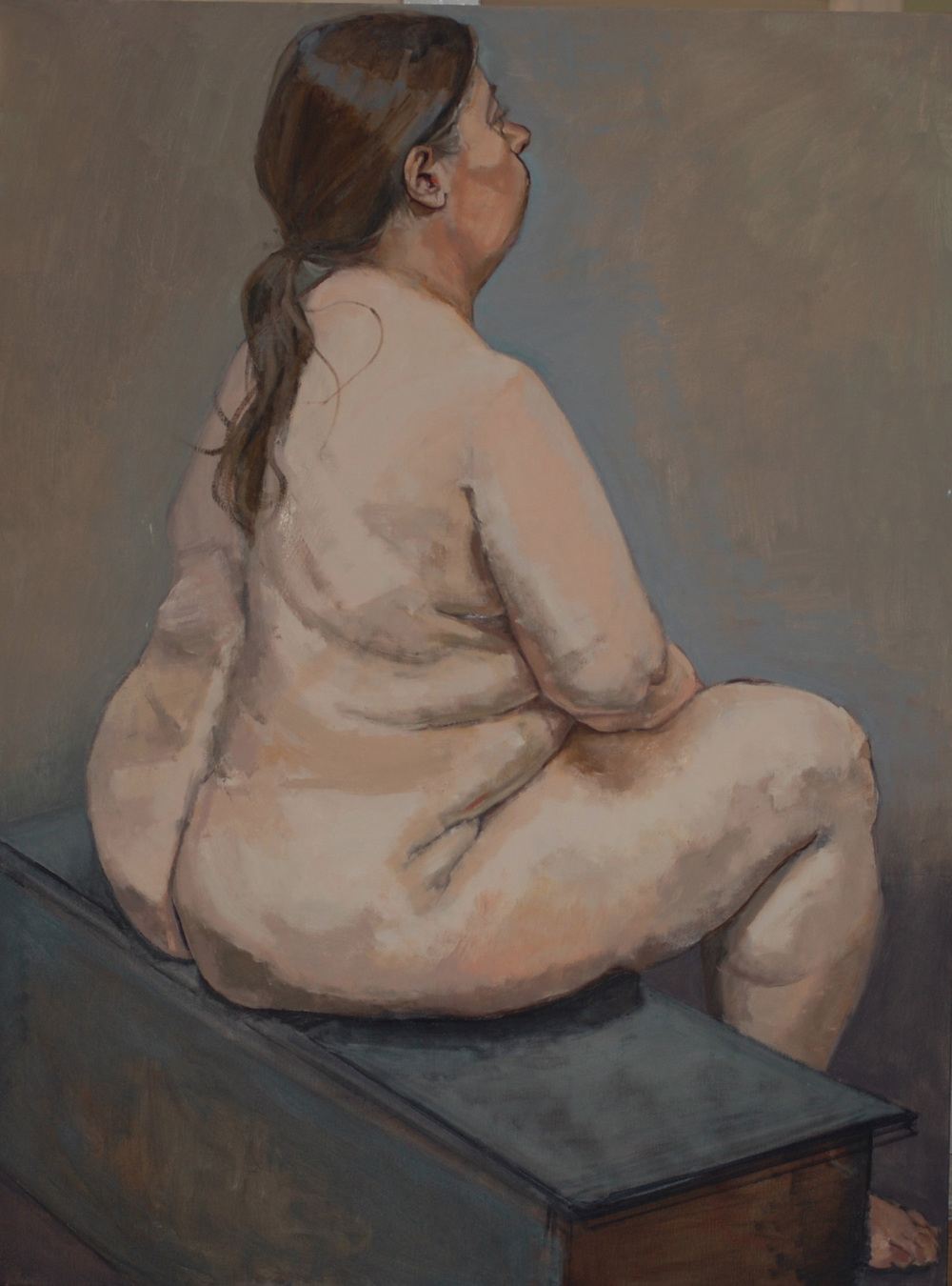 """""""Betty, Nude from Behind"""""""