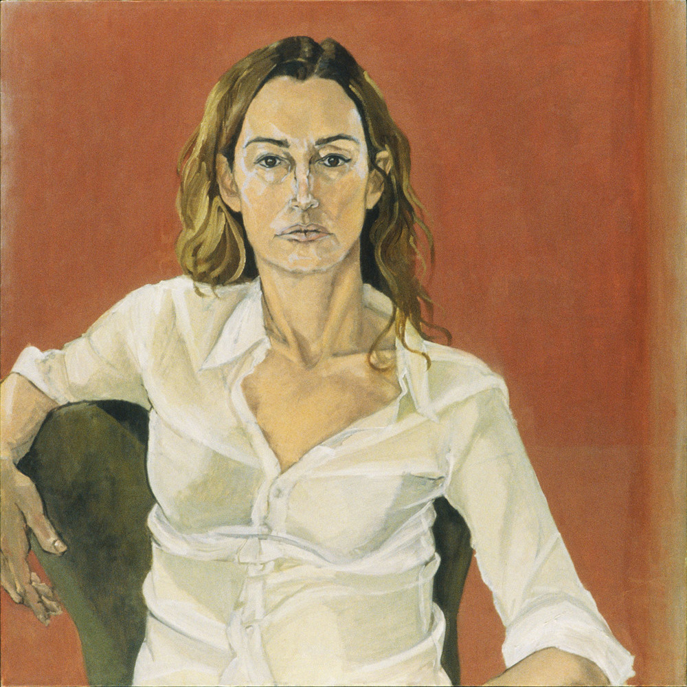 """Self Portrait in White Shirt"""