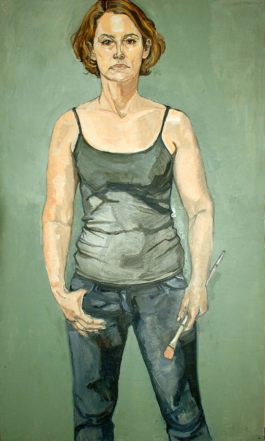 Oil on canvas, 60 in x 36 in, 2008 Finalist The Outwin Boochever 2009 Portrait Competition National Portrait Gallery Smithsonian Institution Washington, DC October 23, 2009 to August 22, 2010