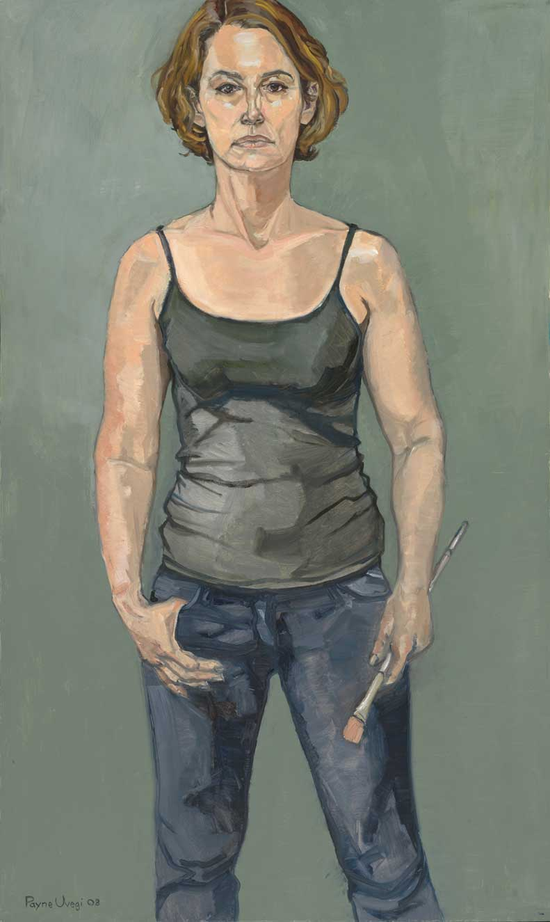 """Self Portrait, Standing"""
