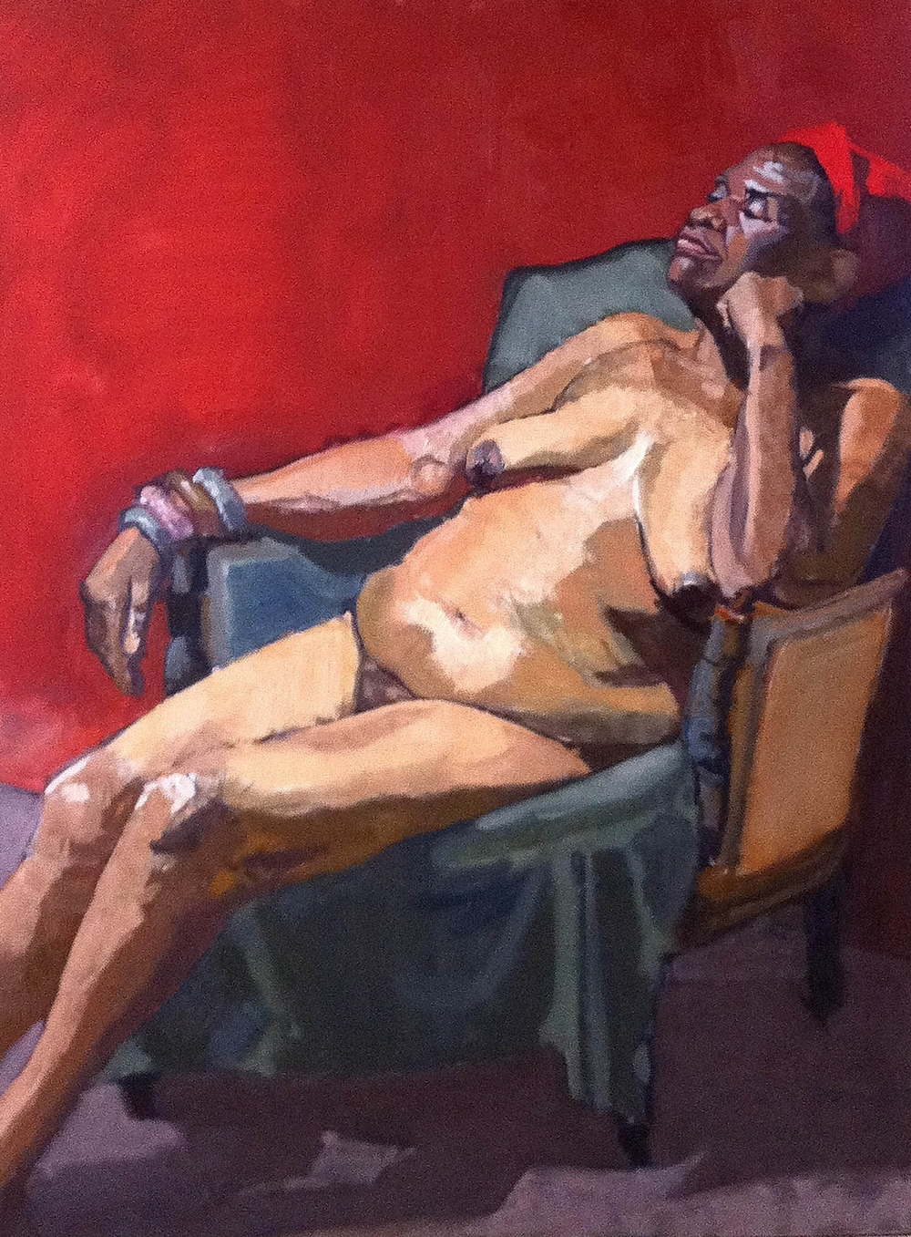 """Donna, Seated Nude"""