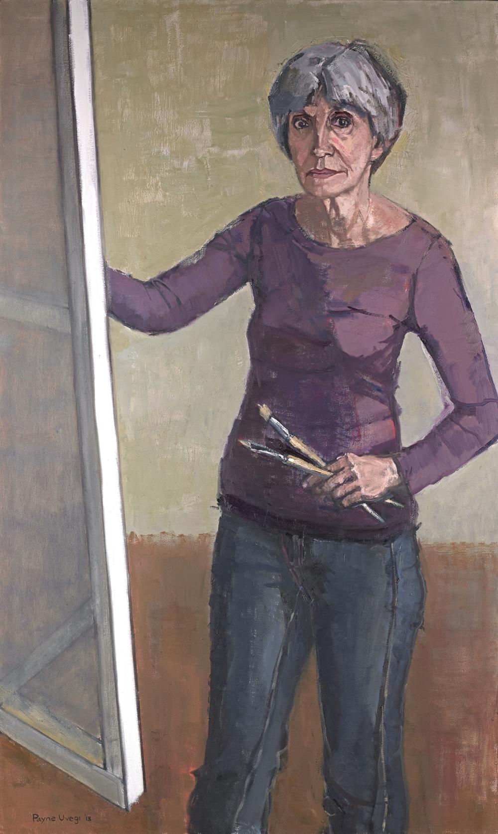 """Donna Painting Clarissa"""