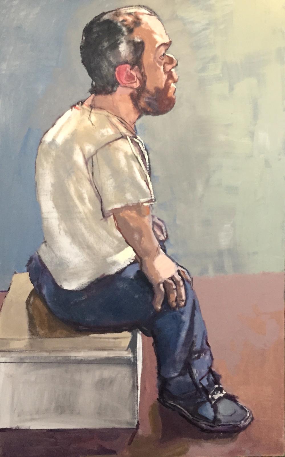 """""""Corban (Seated, With Beard)"""""""