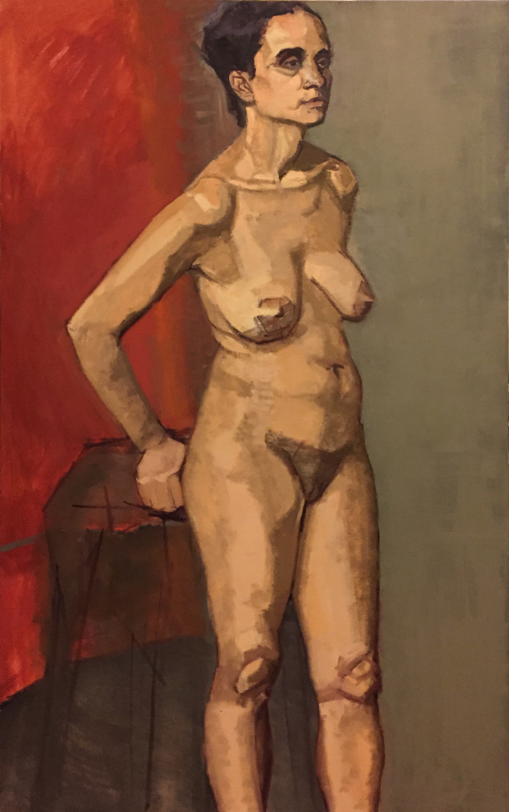 """Evelyn (Nude)"""