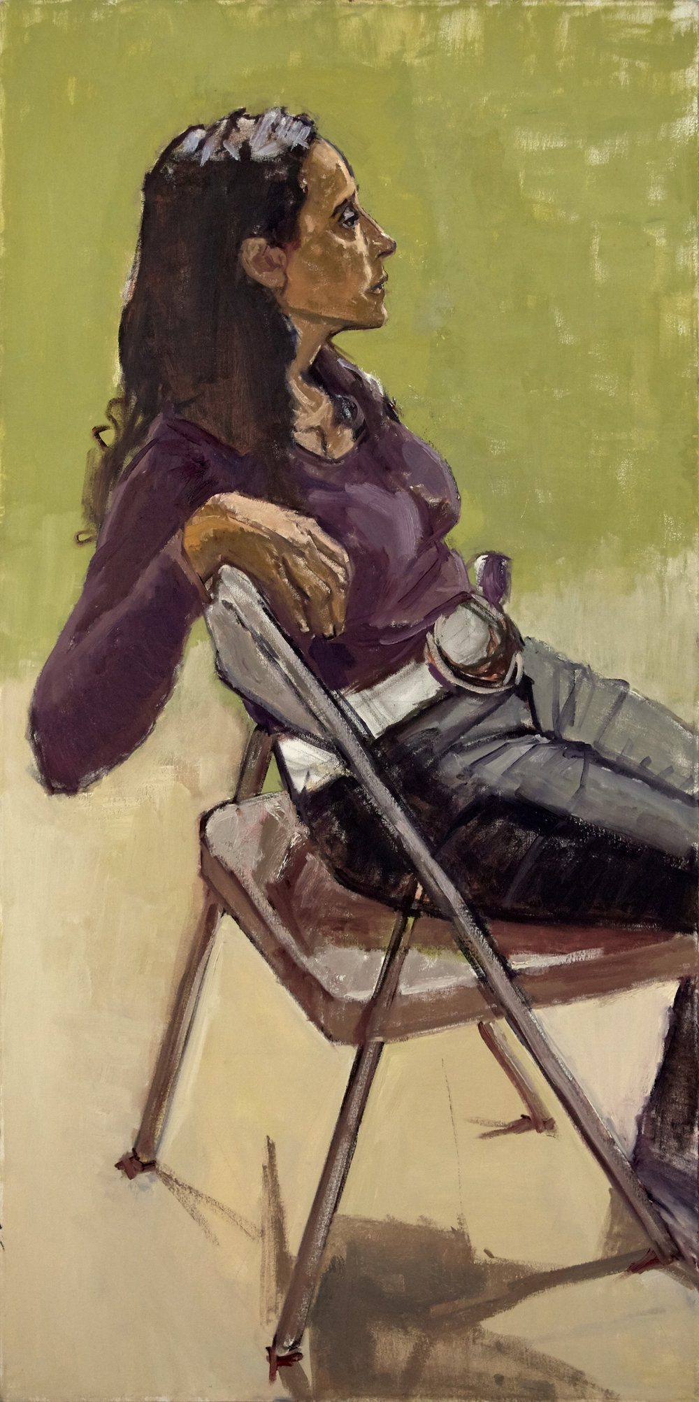 """Evelyn, Seated"""