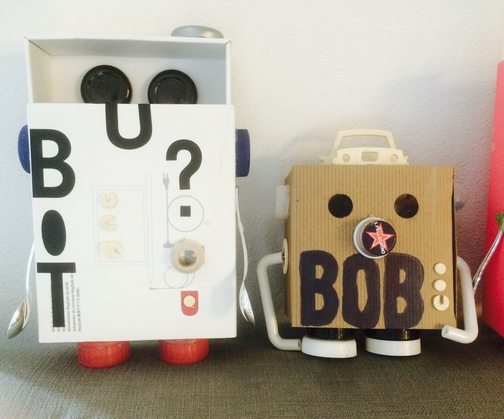Meet Bot and Bob.