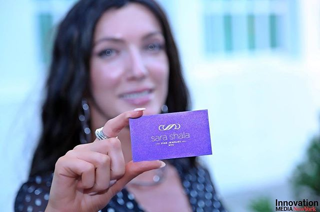 Really love this capture of my card by @innovationmediany  If you can't already tell, I love purple!  #finejewelry #logo #businesscards #businesswoman #designer