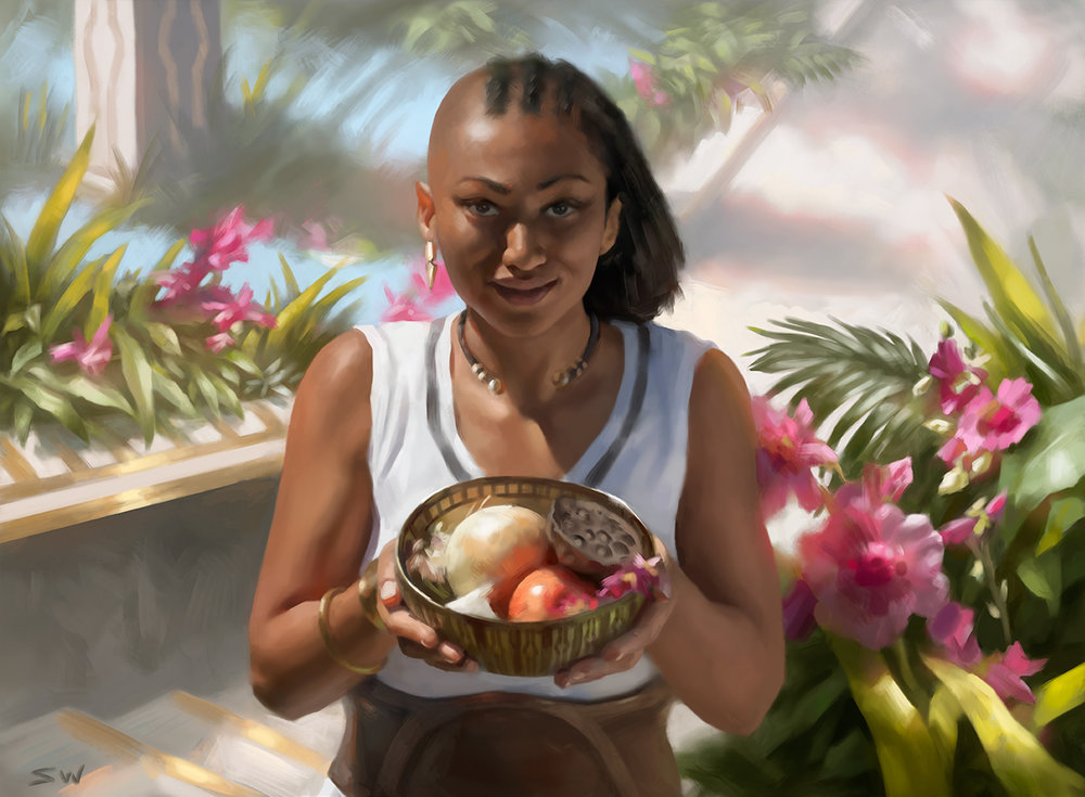 Oashra Cultivator   Magic The Gathering: Amonkhet ©Wizards of the Coast 2017