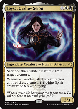 Teysa Orzhov Scion Artist Proof Foil Sara Winters Does the guild have what it takes to 217 тыс. sara winters