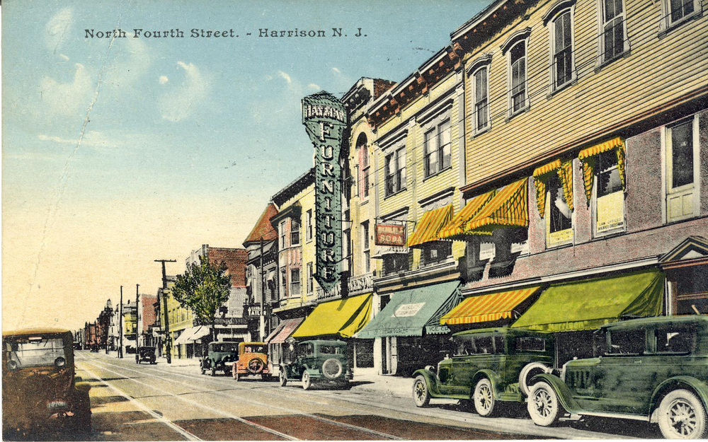 Postcard North 4th Street (F.E.Rodgers Blvd) Harrison