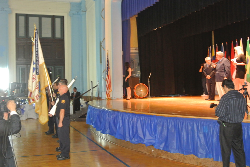 Harrison Fire Department Color Guard