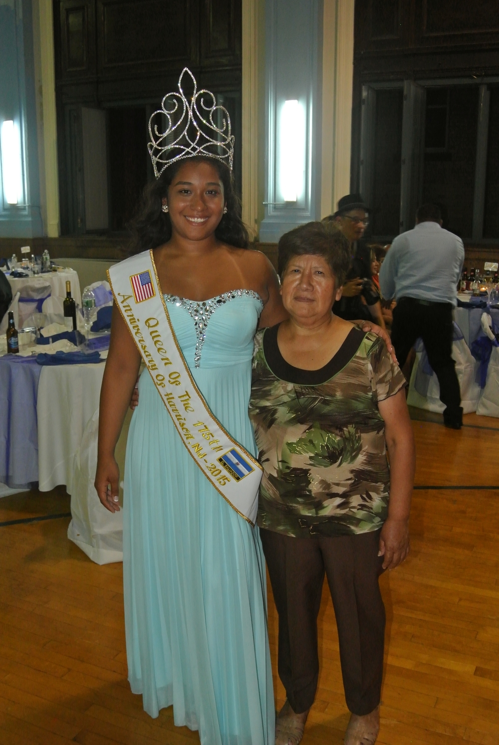 Queen Tiffany Monterosa with Her Grandmother