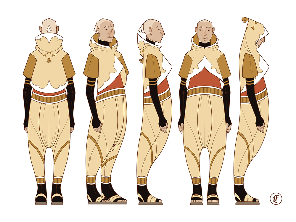Character design for Prince Abram.