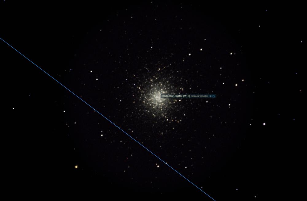 The Hercules Cluster (M13).