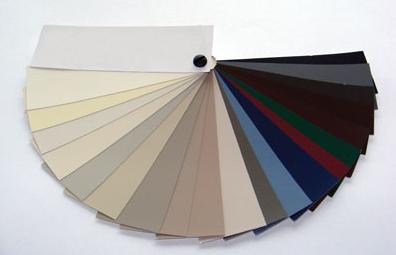 Vaste choix de couleurs