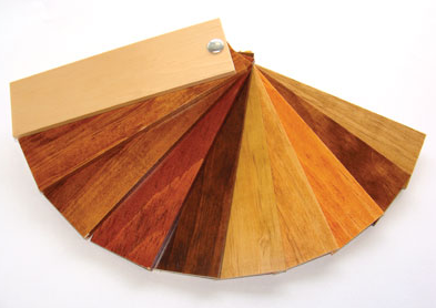 Vast selection of wood colors
