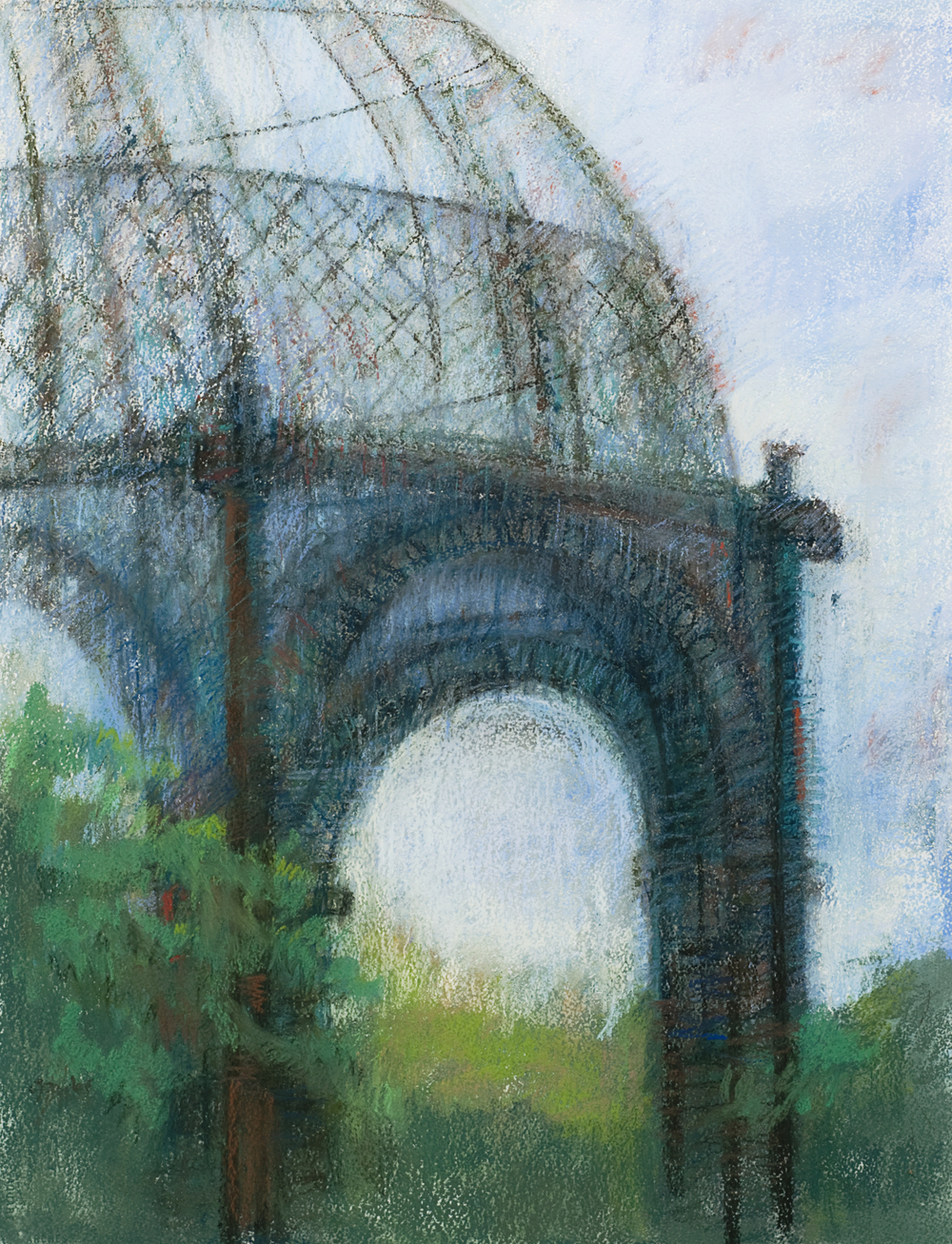 Detail of Gazebo 30 x 22""