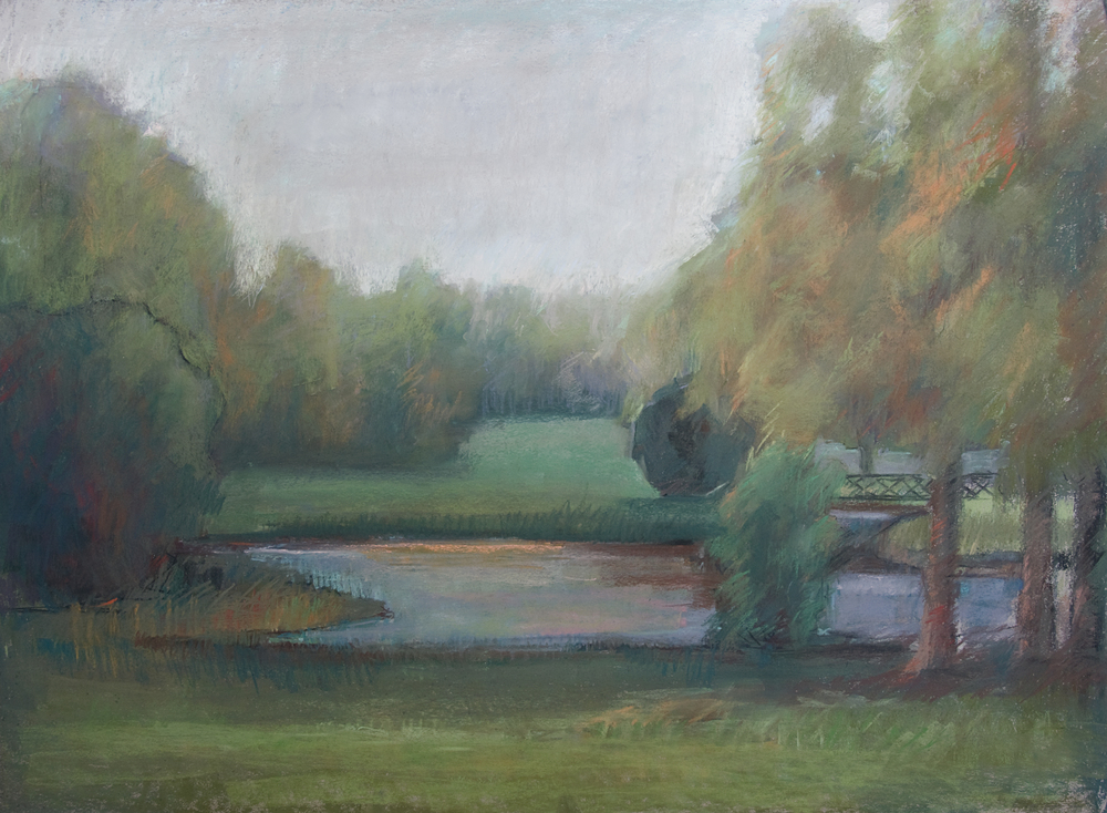 Chantilly Landscape 40 x 30""