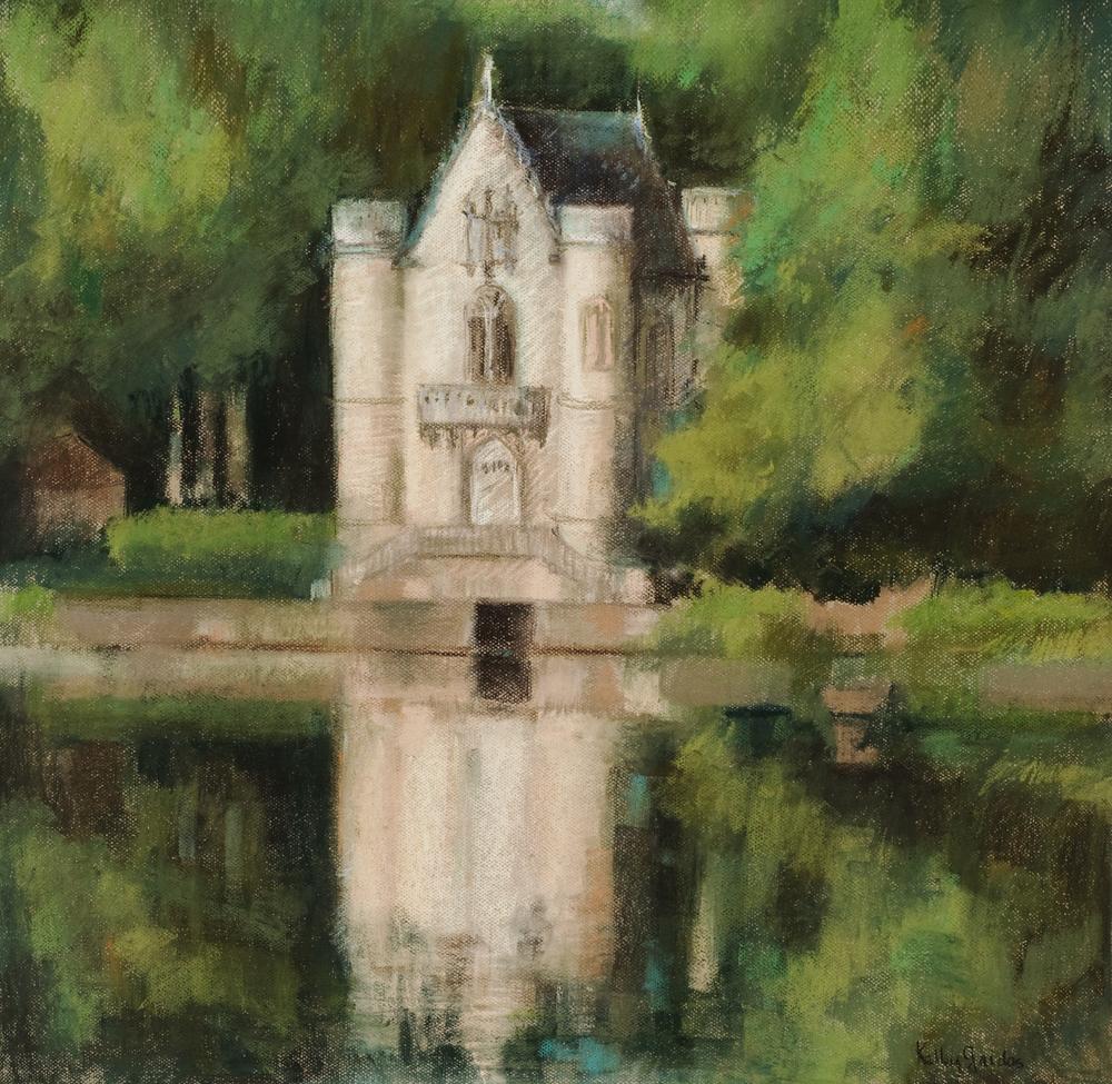 "Chateau Reine Blanche Coye-la-Foret 29 x 32"""