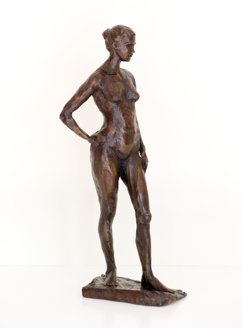 Standing Nude, Bronze