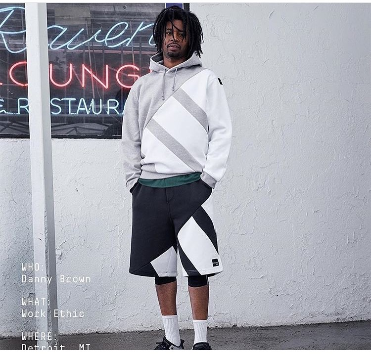 Adidas Originals Fall/ Winter Campaign 2017- Danny Brown