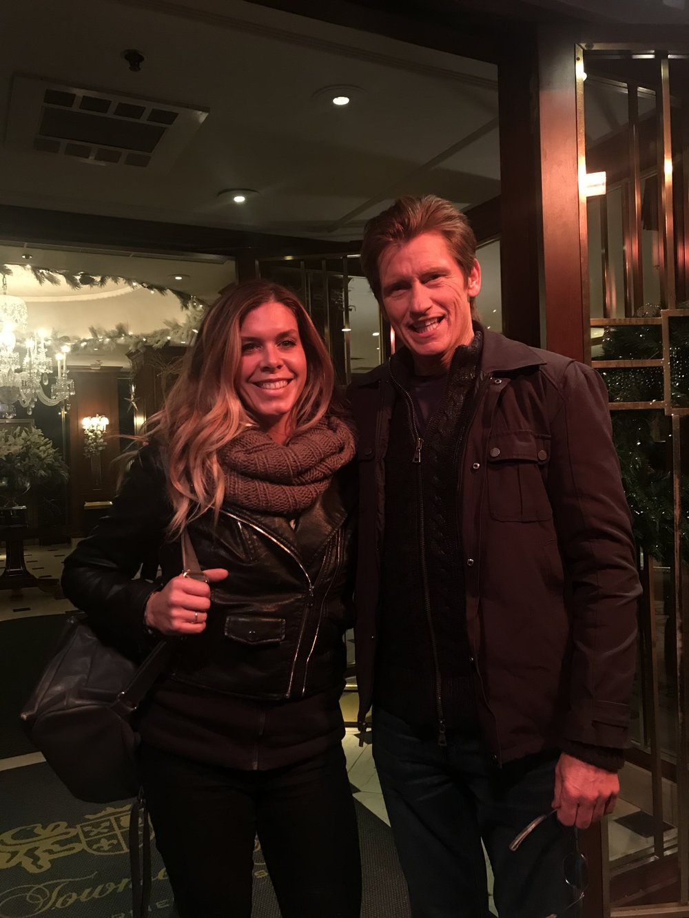 Denis Leary and I