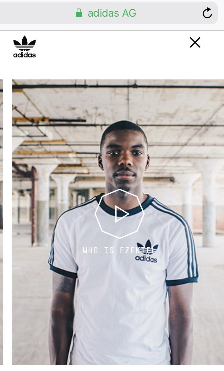 Adidas EQT App
