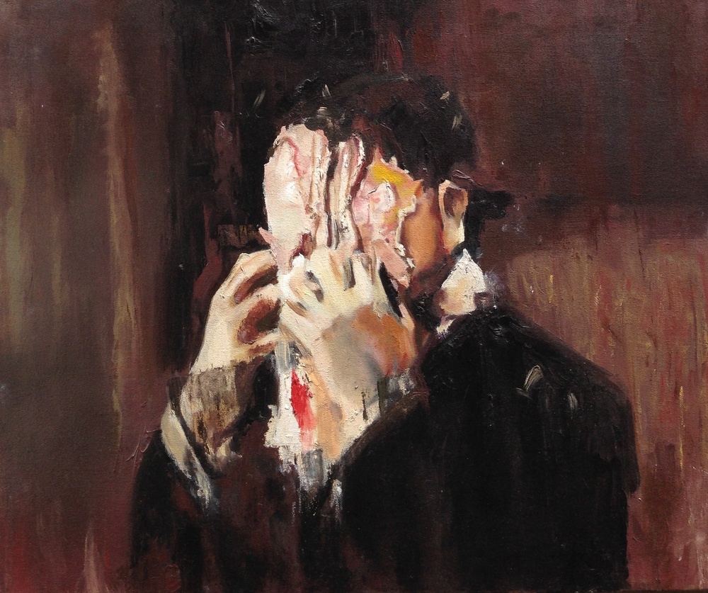 Adrian Ghenie painting copy