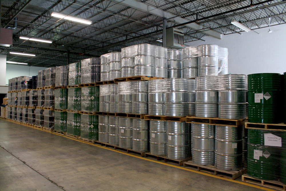 Chemtex USA's warehouse facilites