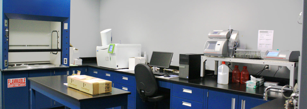 Chemtex USA's laboratory facilities