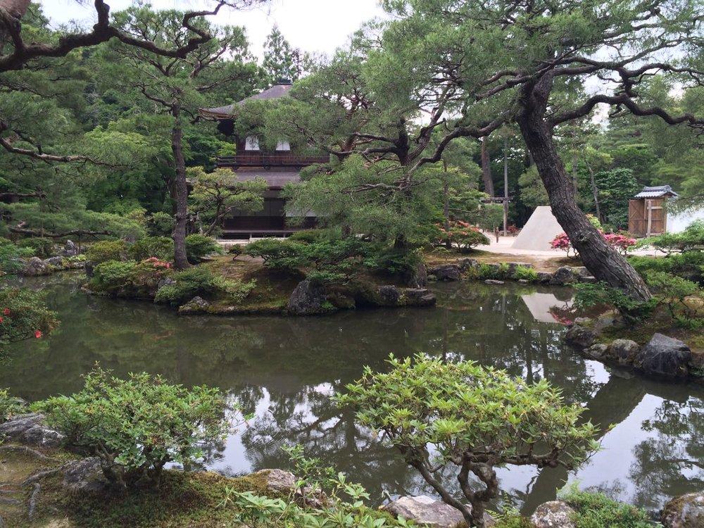 Ginkaku-ji pond