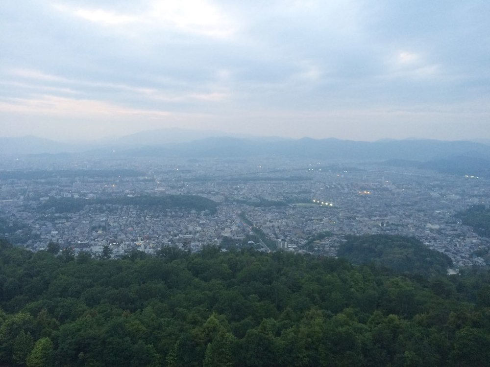 View from Daimonji