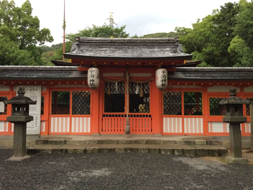 The very modest Ujigami Jinja in Uji is Japan's oldest continuously operating Shinto shrine.