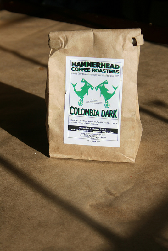 Hammerhead Coffee, small-batch roasted in Bellingham, Washington.