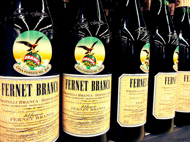 Fernet-Branca, by Jesús Dehesa on Flickr.