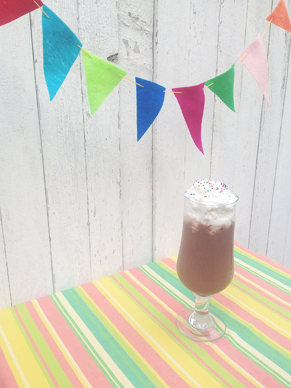Boozy chocolate milkshake featuring Fernet Branca! | recipe at saragalactica.com