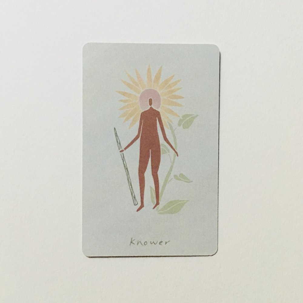 Knower of Wands, Mesquite Tarot