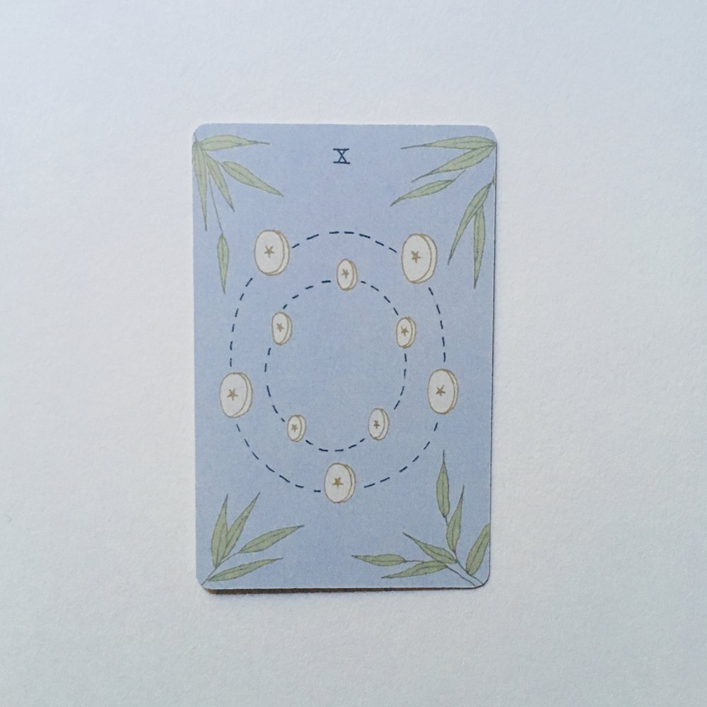 Ten of Pentacles, Mesquite Tarot