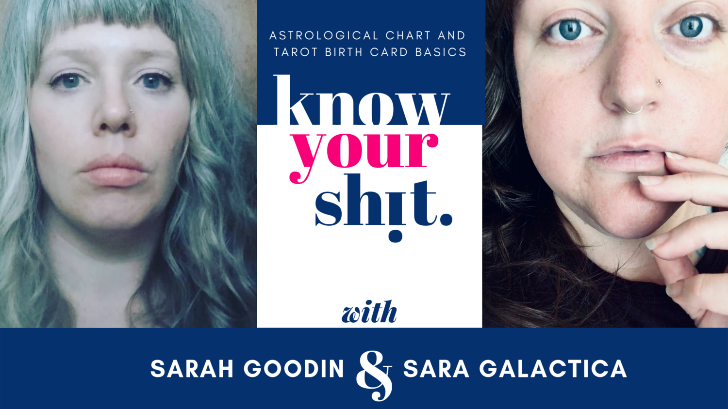Know Your Shit: Astrological Chart and Tarot Birth Card Basics
