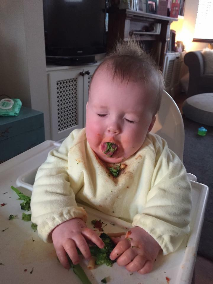 Mummy I love broccoli!