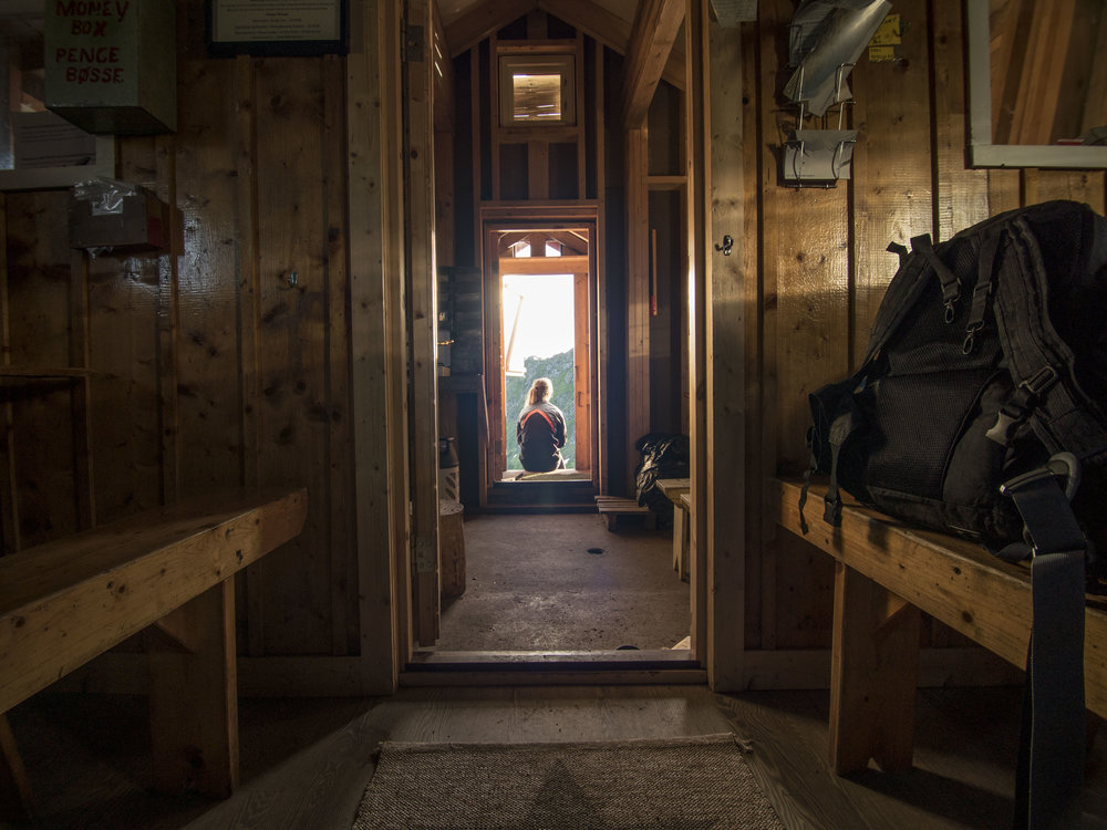 Flattbrehytta cabin