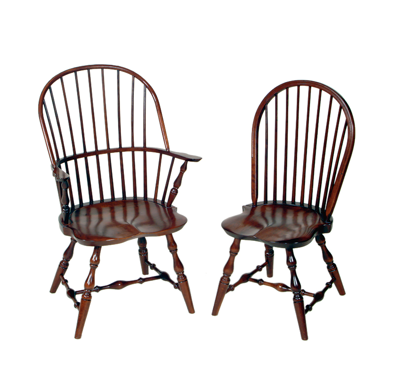 Classic Bow Back Windsor Chair