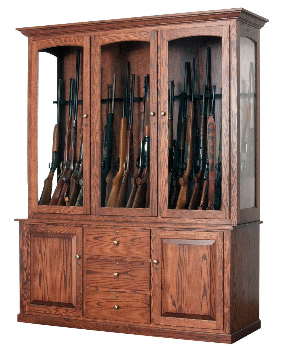 pulaski home with deer etched glass gallery sale gun wood cabinet in for wooden furniture cabinets johnstown decoration